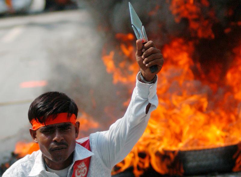 A Hindu extremist [1]